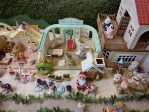 軽井沢おもちゃ王国のシルバニアファミリー
