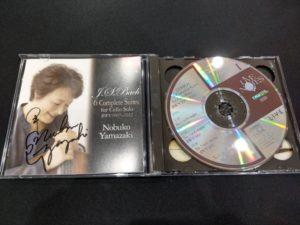 山崎伸子(vc) / J.S.バッハ:無伴奏チェロ組曲 全曲 [CD]