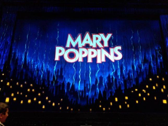 ロンドンのミュージカル。メリーポピンズ。