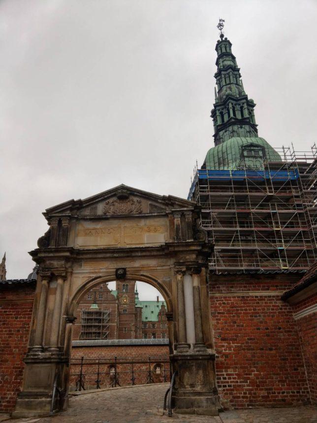フレデリクスボー城修復中